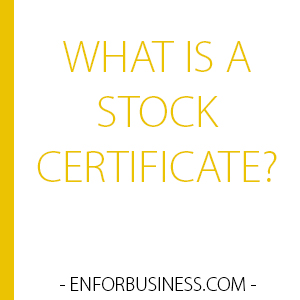 what-is-a-stock-certificate